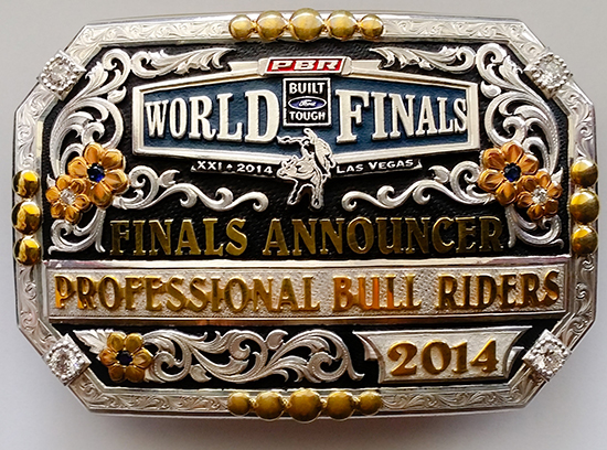 2013-14 PBR Built Ford Tough World Finals announcer